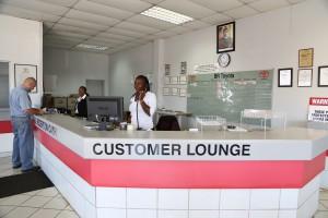 BR Toyota customer lounge
