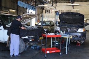 BR Toyota workshop